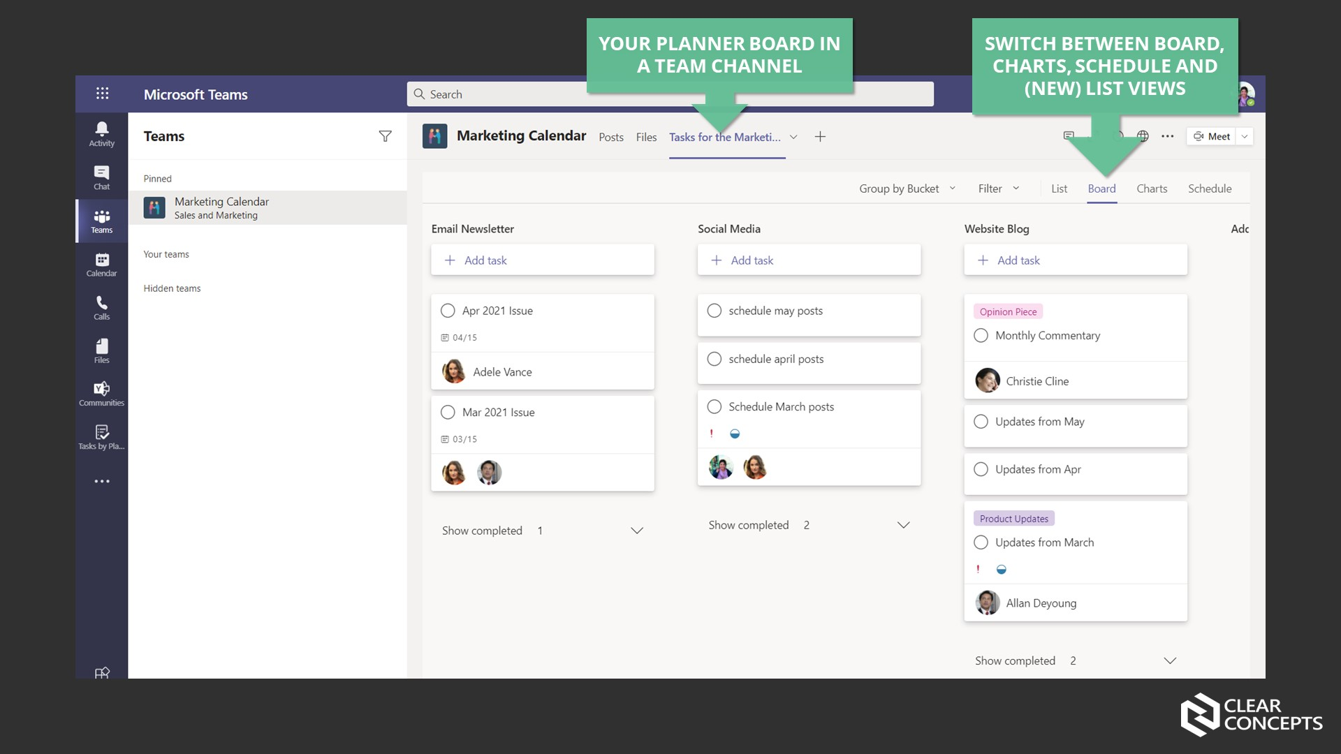 MW Blog - Planner in Teams2