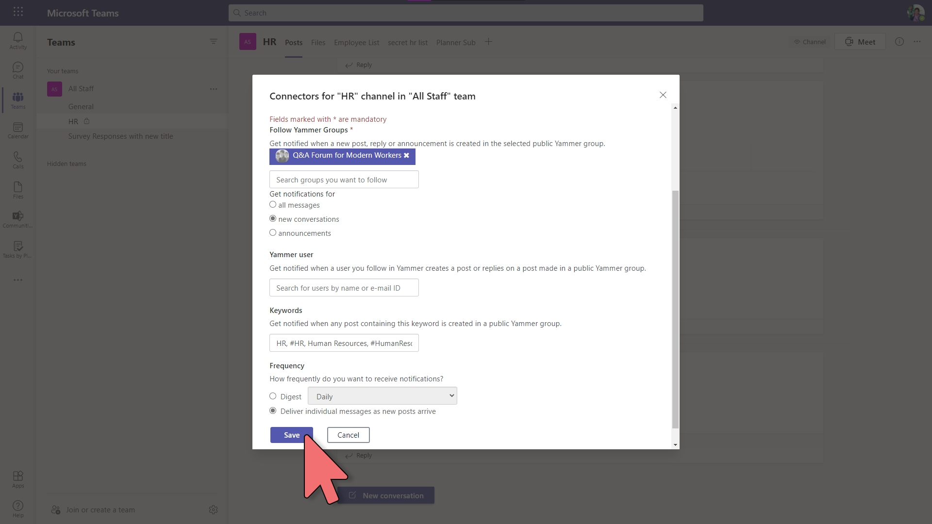 Yammer - Communities Connector – 2