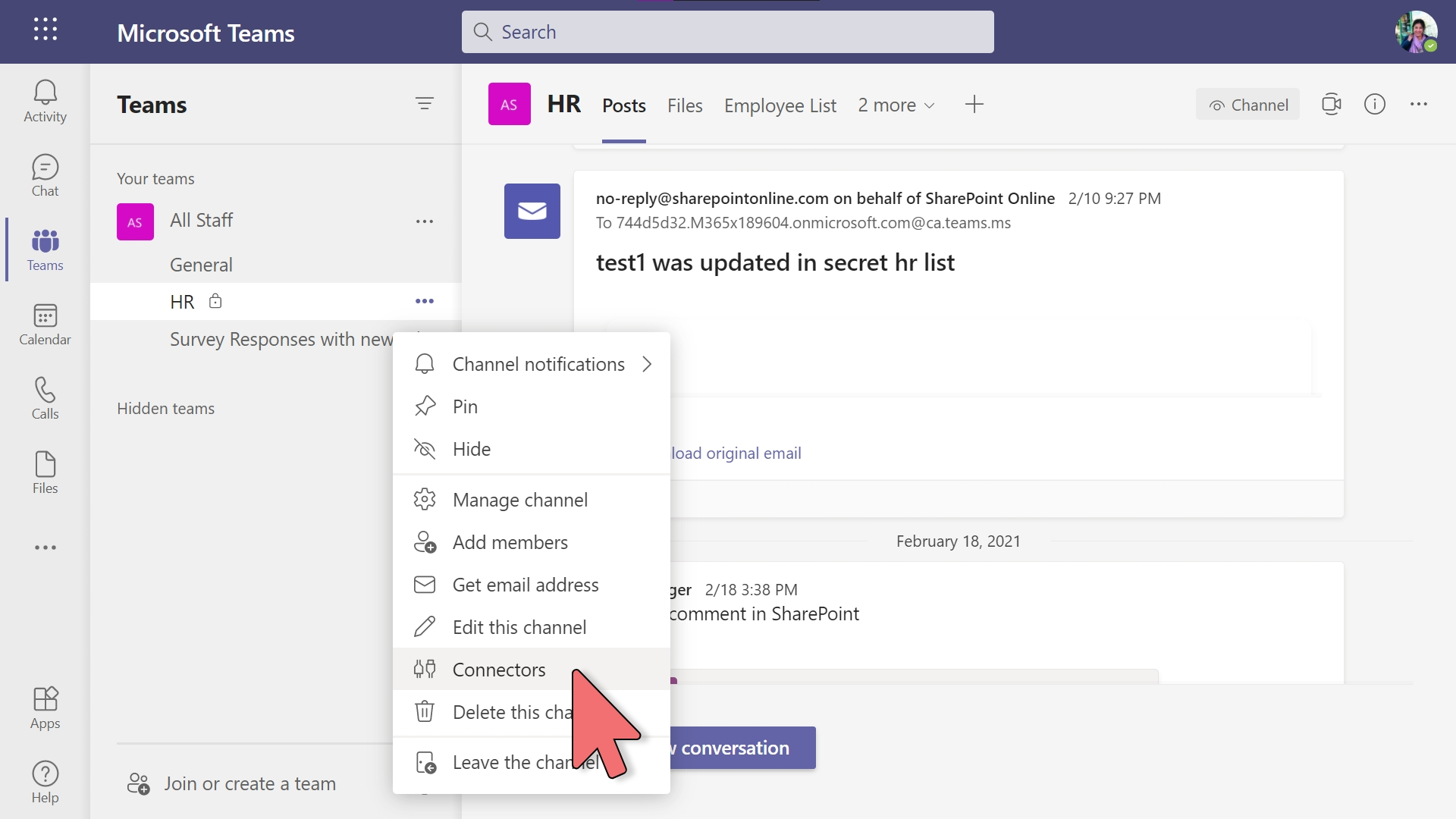 Yammer - Communities Connector