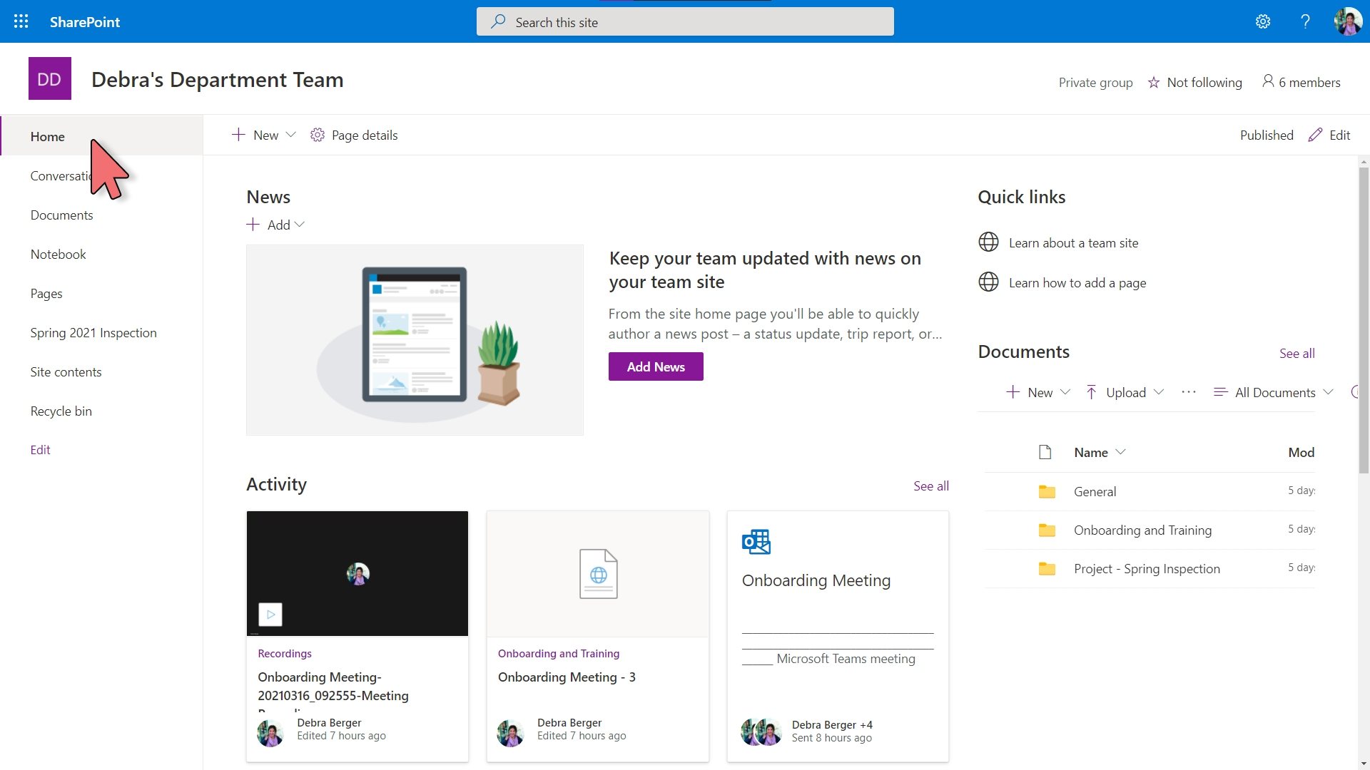 Yammer - Embed in SharePoint