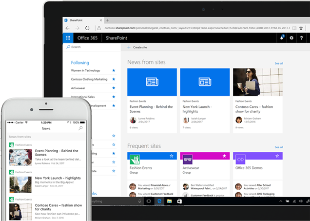 sharepoint-news-sites