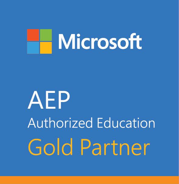 Microsoft Authorized Education - Gold Partner