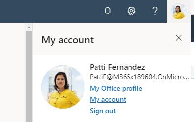 Office.com My Account