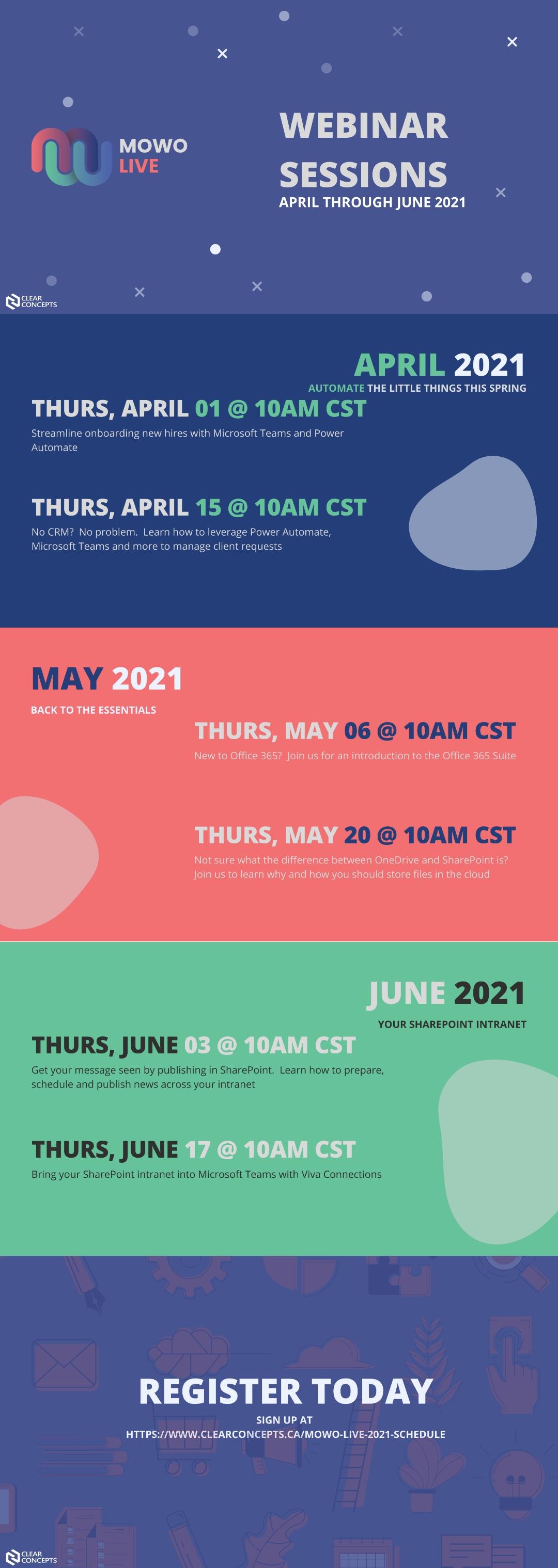 mowo live schedule