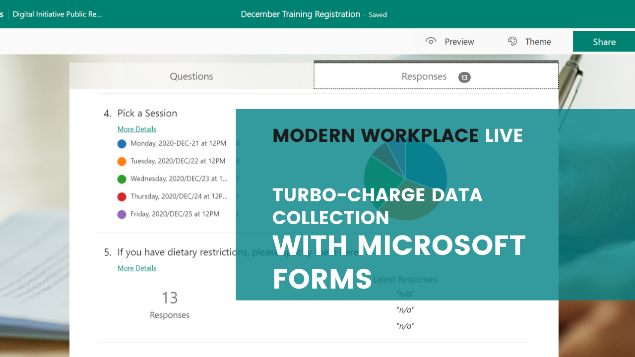 Modern Workplace Live - Intro to SharePoint Communication Sites